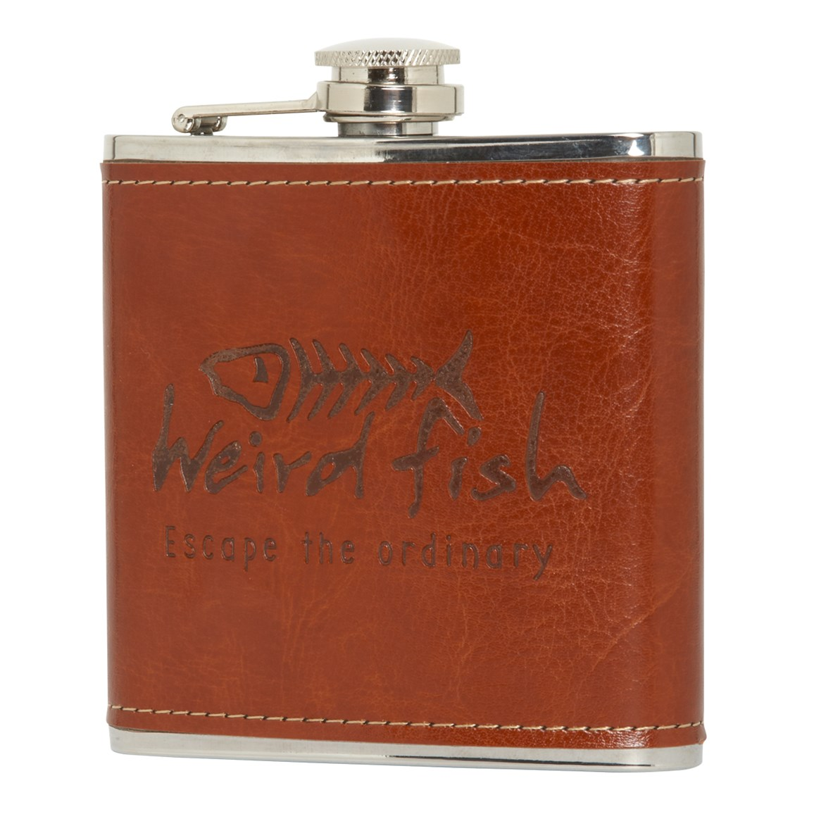 Image of Newcastle Thermal Hipflask Tan