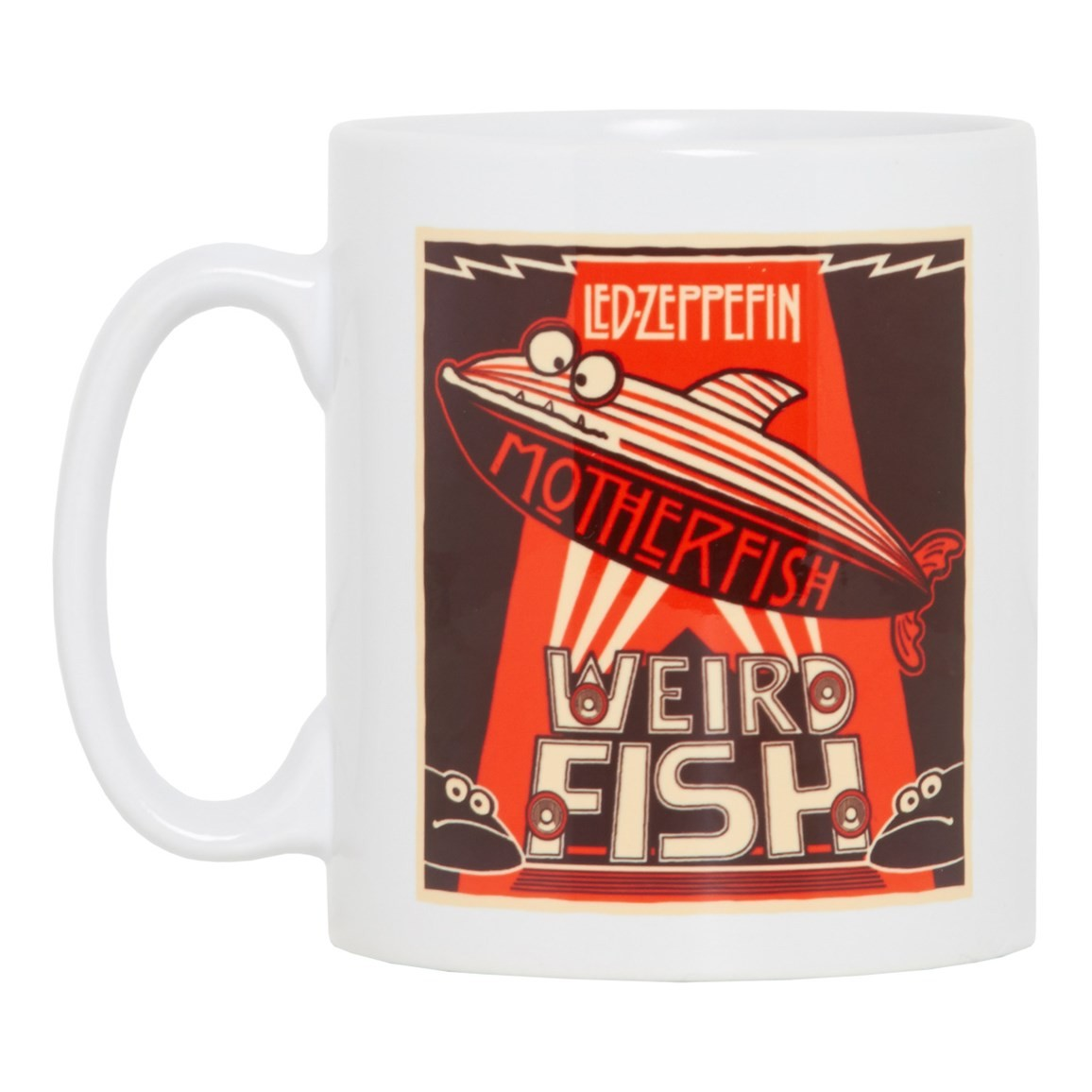 Image of Motherfish Graphic Print Mug White