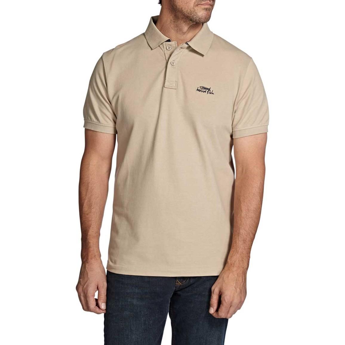 Barros Classic Pique Polo Shirt Pebblestone