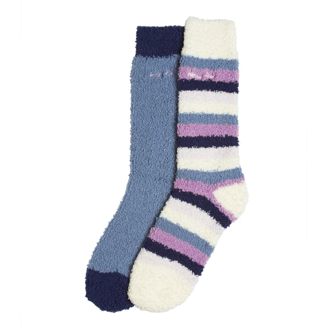 Park Fluffy Socks 2 Pack Iris