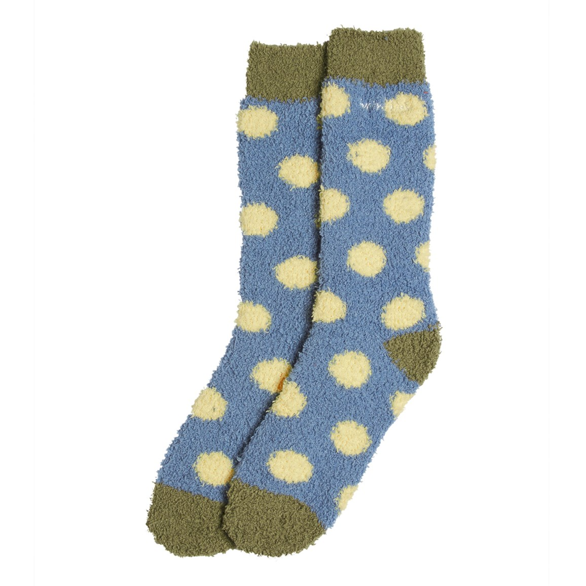 Pool Spotty Socks Faded Denim