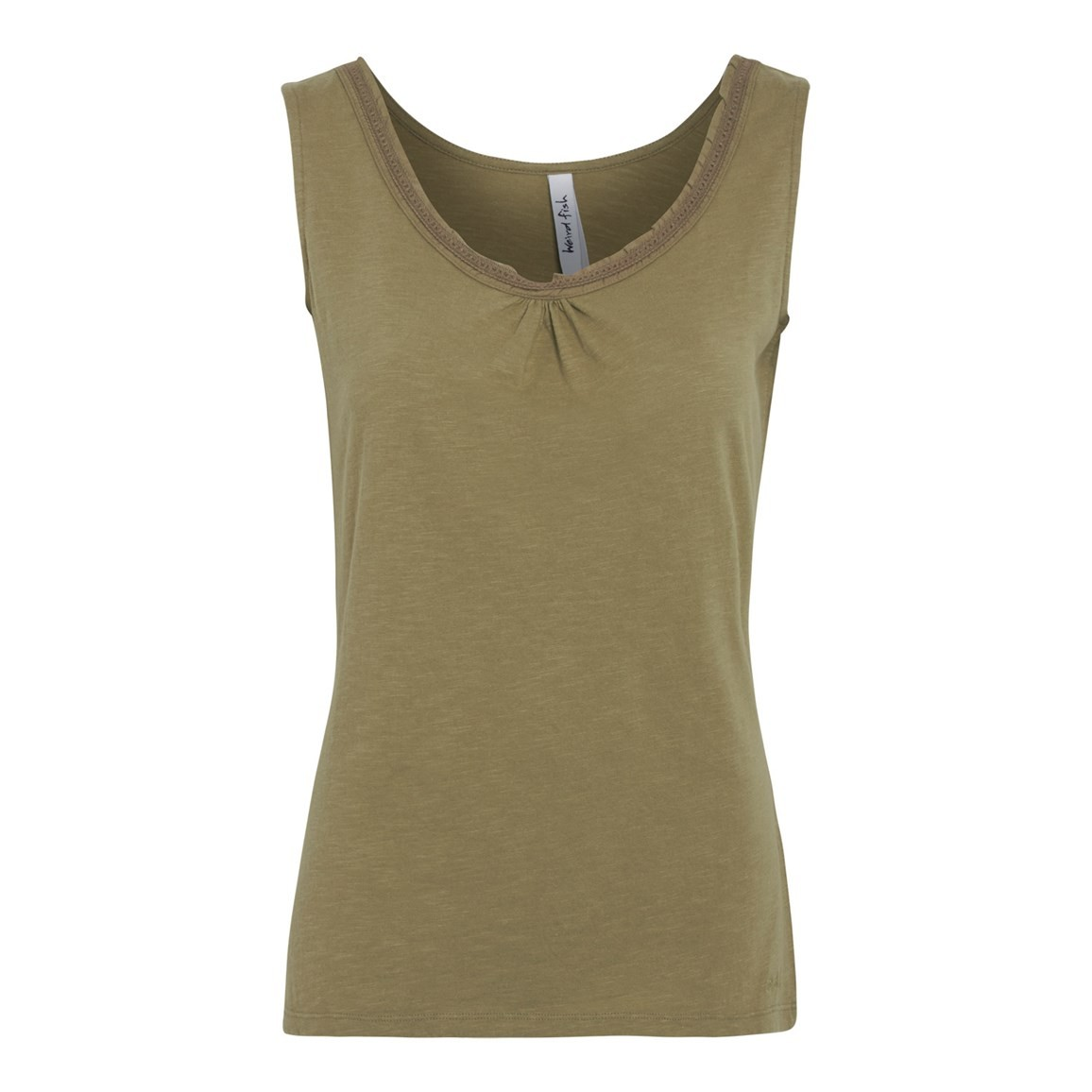 Beeches Vest Top Khaki