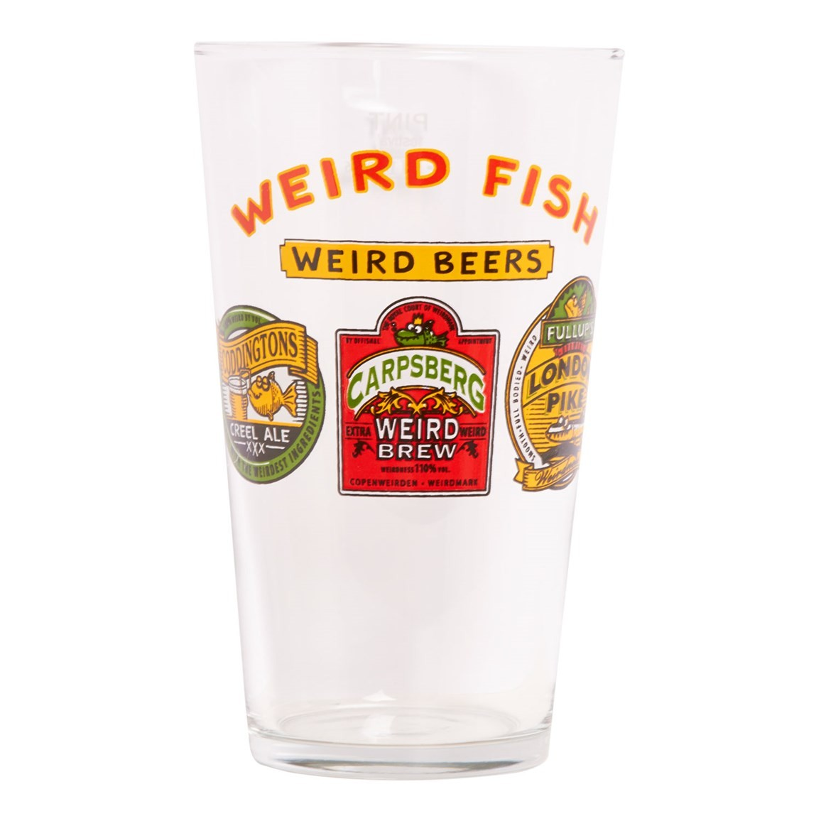 Glasses Weird Beers Pint Glass