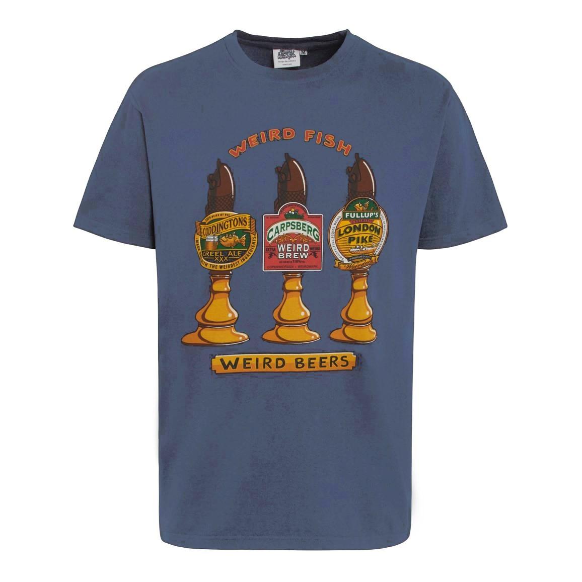 Weird Beers Artist T-Shirt Blue Mirage