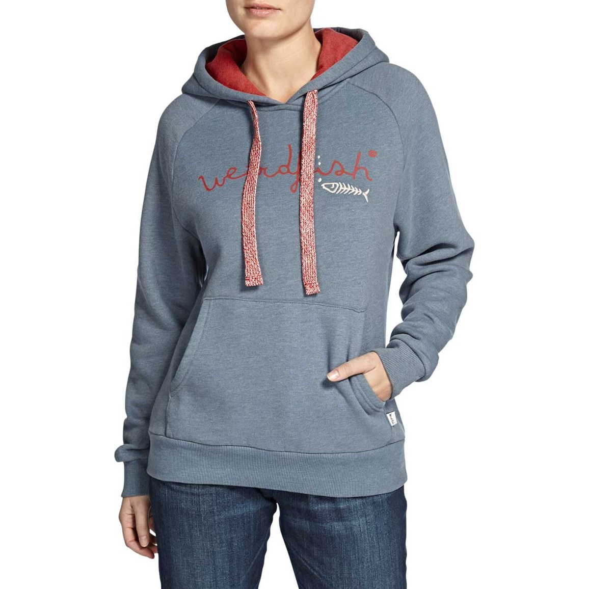 Twilight Branded Graphic Print Hooded Sweatshirt Storm