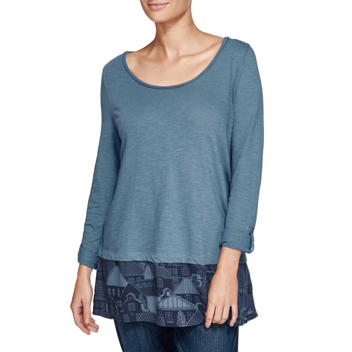 Isala Long Length T-Shirt Storm