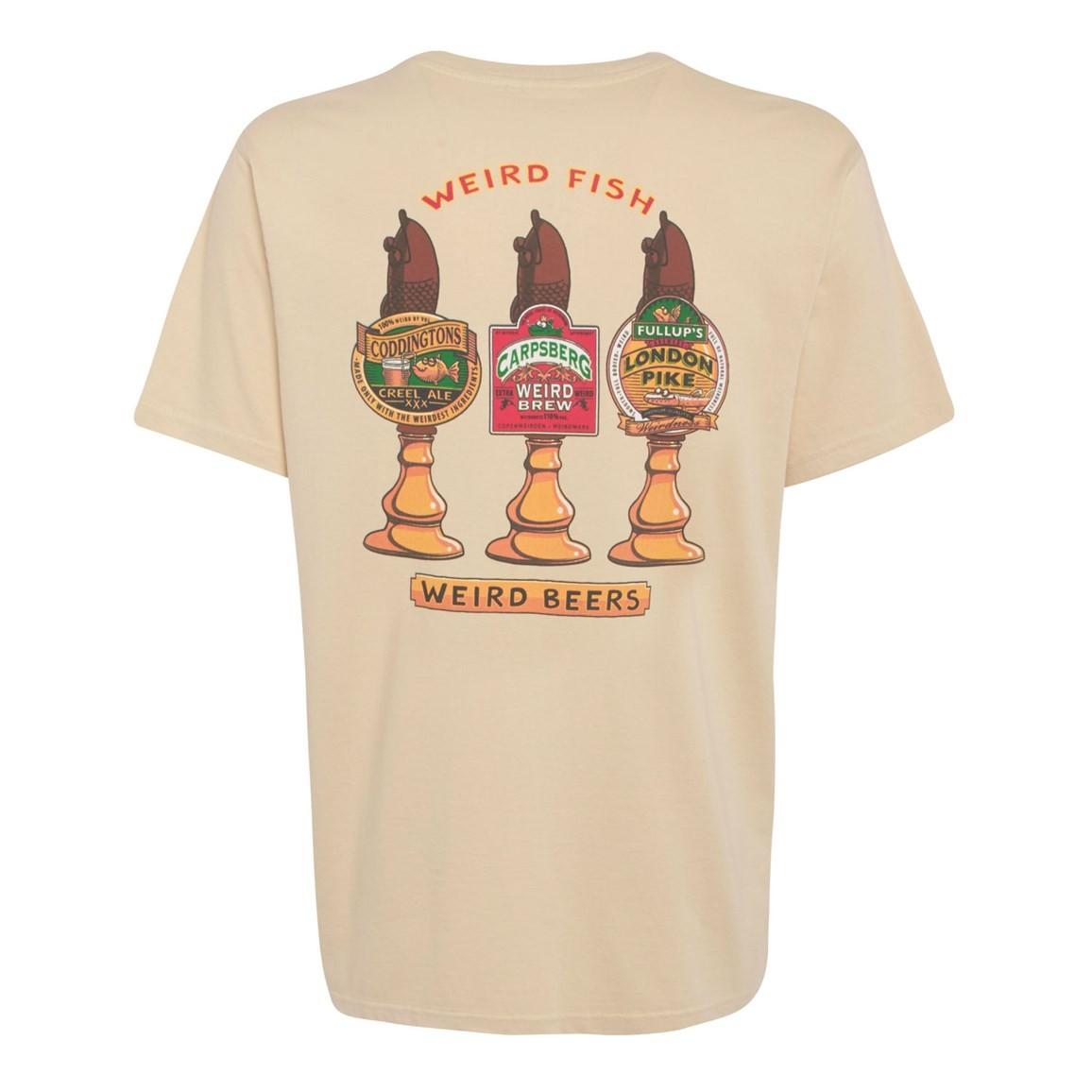 Weird Beers Printed Artist T-Shirt Oyster