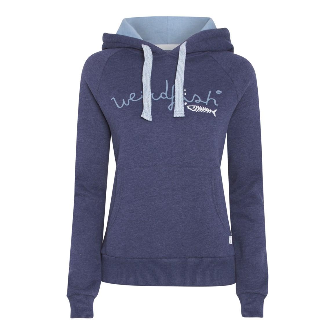 Twilight Branded Graphic Print Hooded Sweatshirt Dark Navy