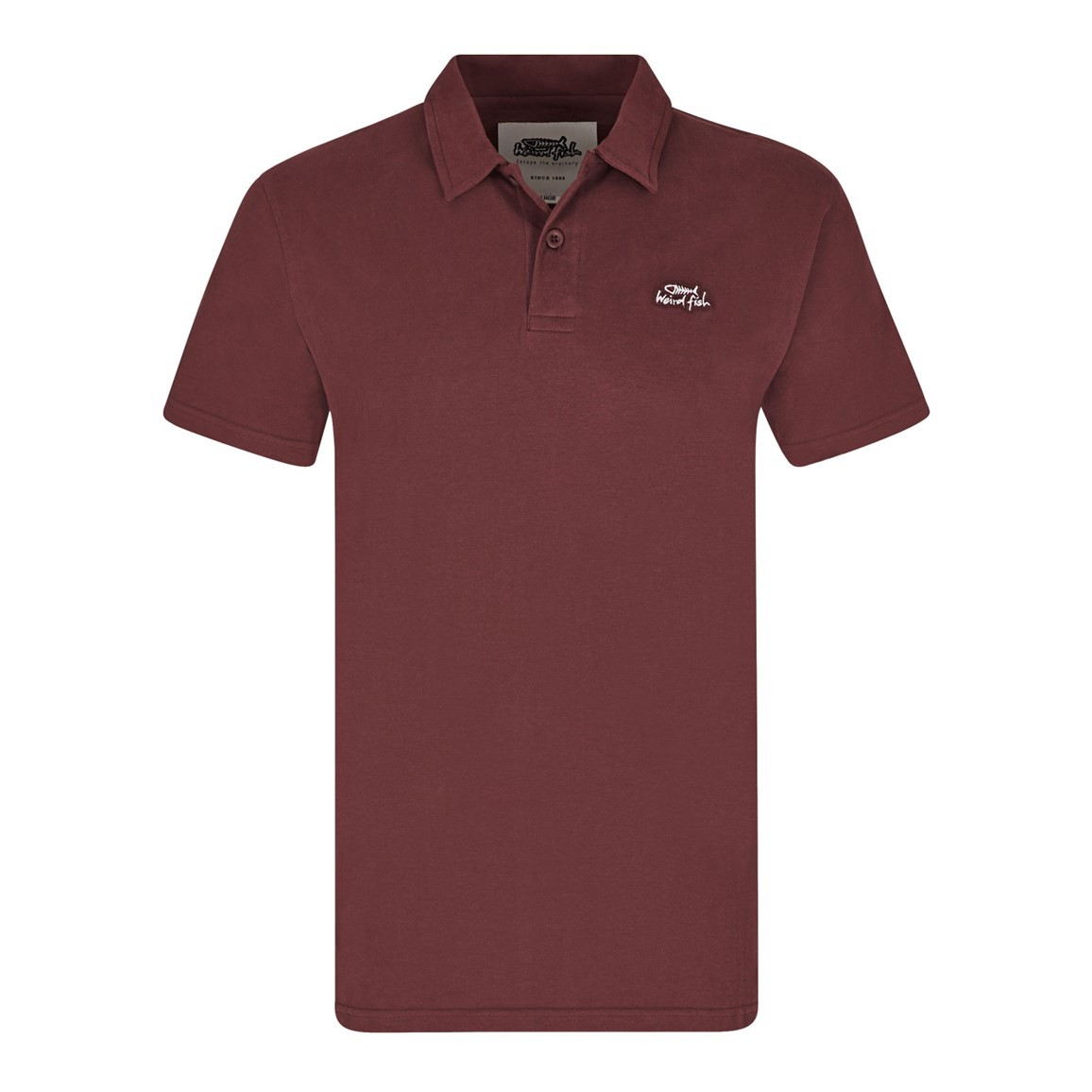 Andrew Plain Jersey Polo Shirt Conker