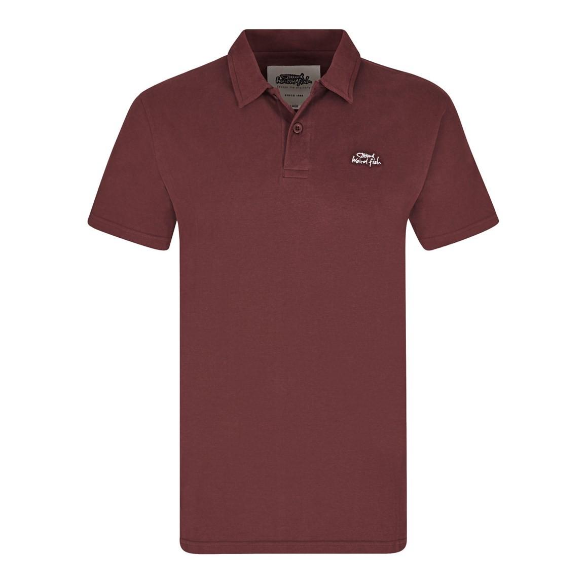 Andrew Plain Jersey Polo Shirt Conker