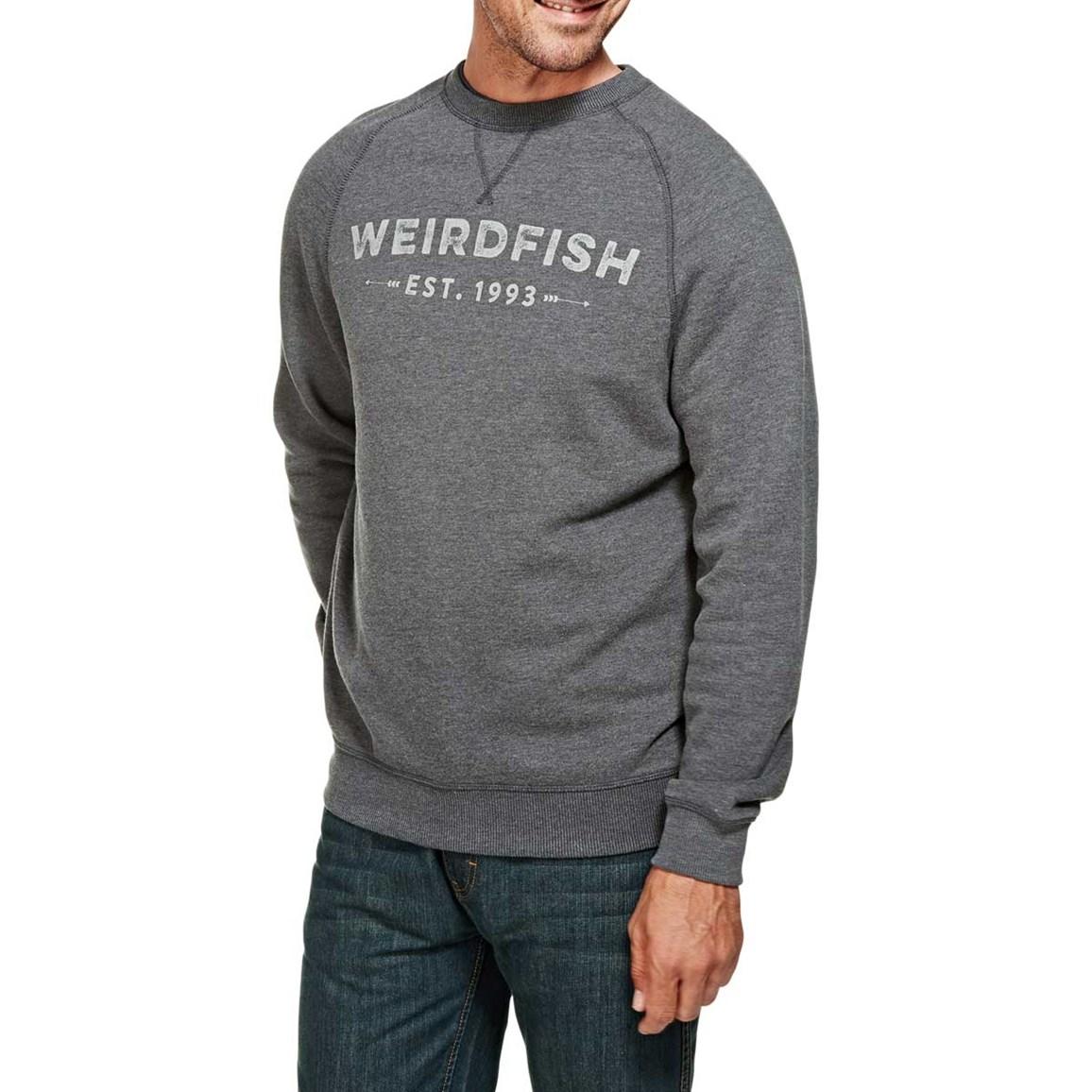 Clyde Branded Graphic Print Sweatshirt Ebony