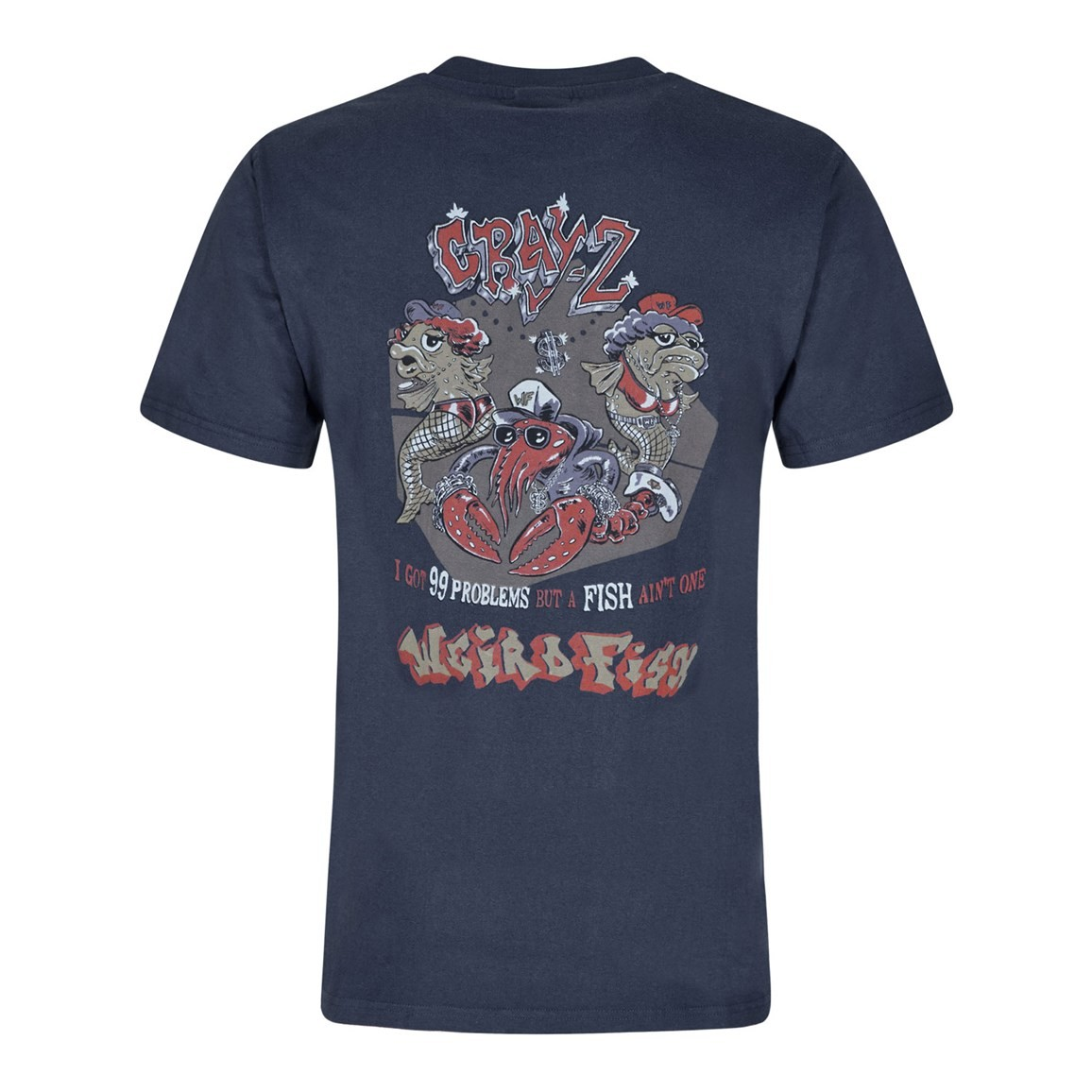 Cray Z Printed Artist T-Shirt Dark Navy