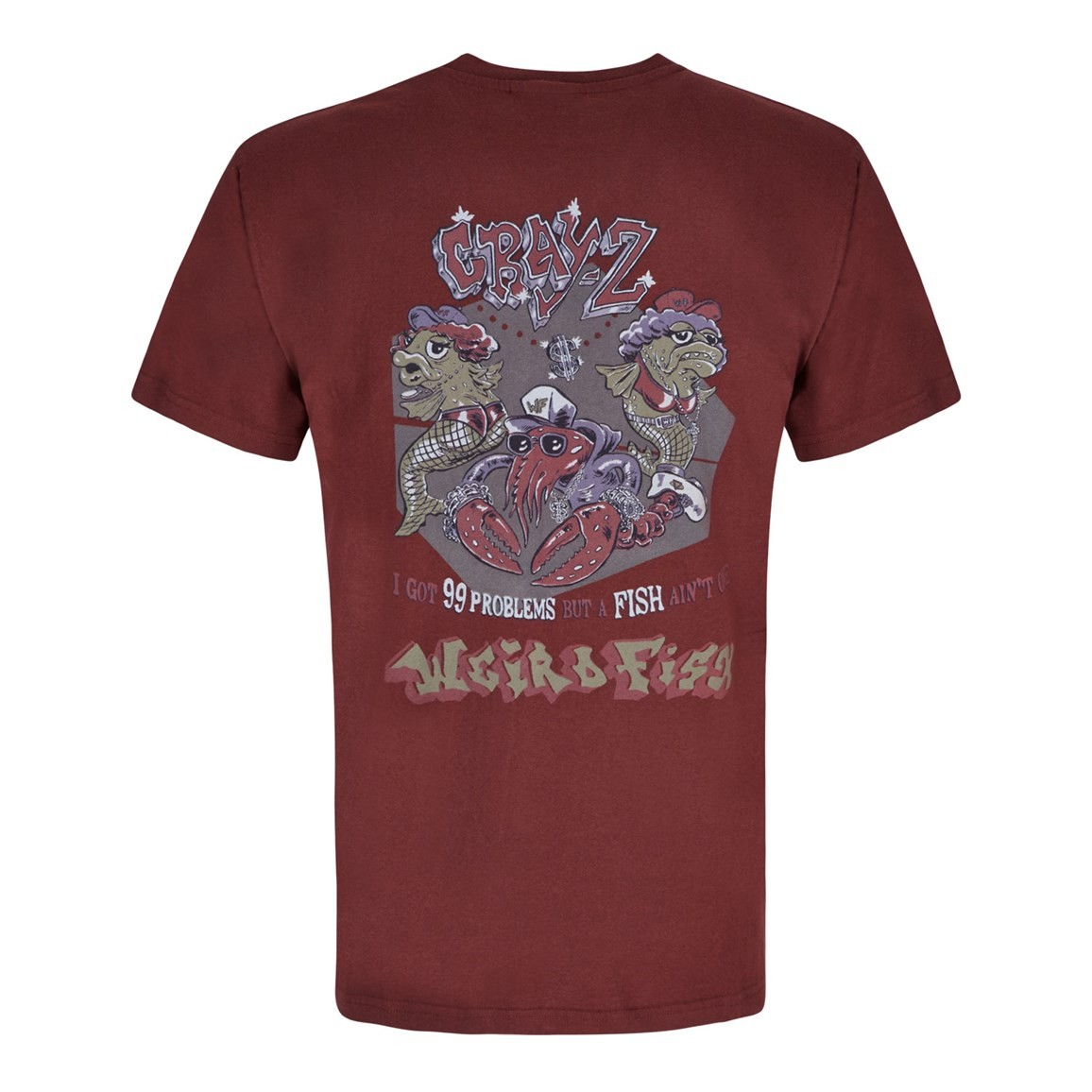 Cray Z Printed Artist T-Shirt Conker