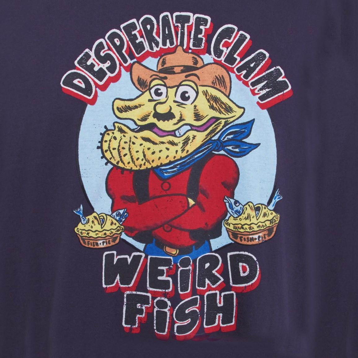 Desperate Clam Artist T-Shirt Rich Navy
