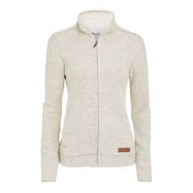 Grayling Full Zip Macaroni Sweatshirt Ecru